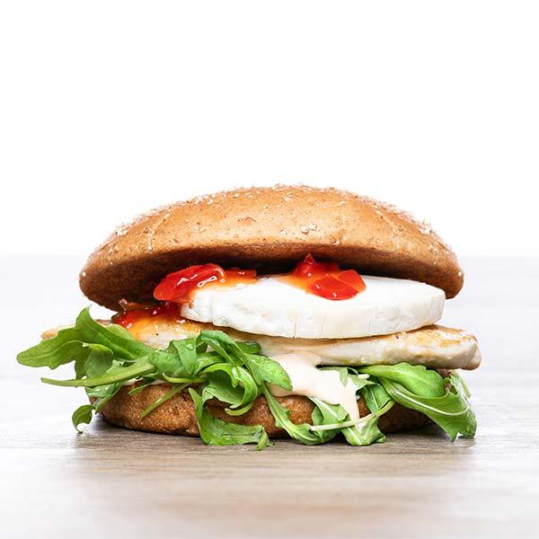 Vuohenjuustoburgeri freshburger